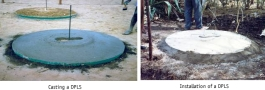 Domed Pit Latrine Slabs